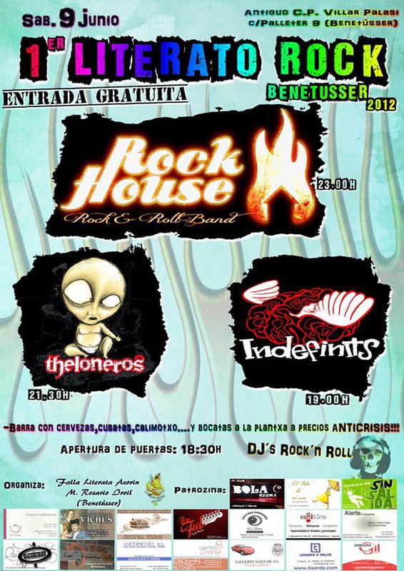 concierto rock benetusser