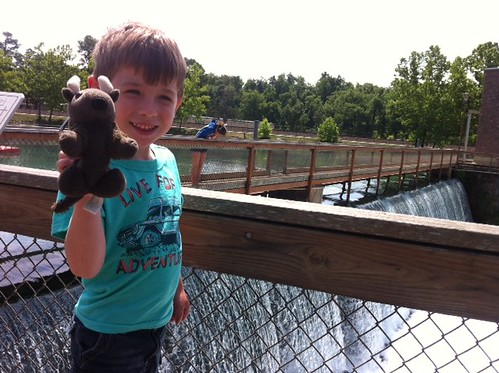 Chase and Buddy visit Mammoth Spring, Arkansas