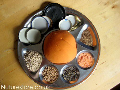 play dough activities rangoli mandalas