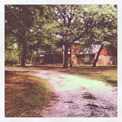Our house on Apple Tree Farm