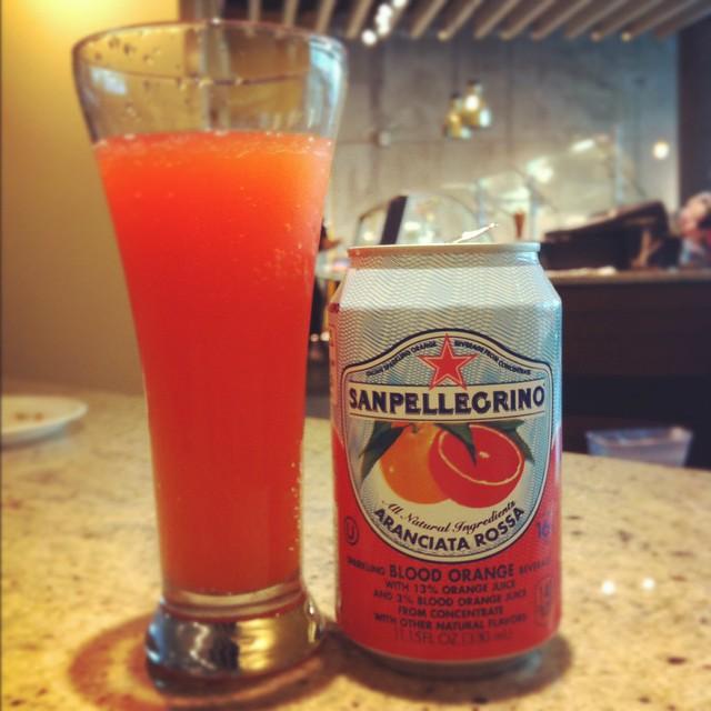 San Pellegrino Blood Orange Drink