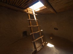 floor, wall, attic, wood, room, ceiling, beam, basement, stairs, lighting,