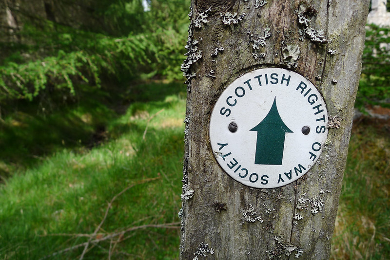 A Scottish Rights of Way Route