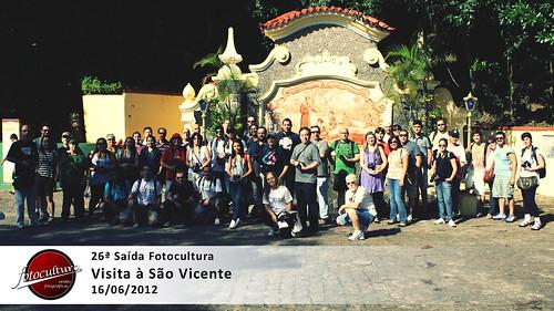 Oficial da 26ª Saída Fotocultura - São Vicente 16/06/12