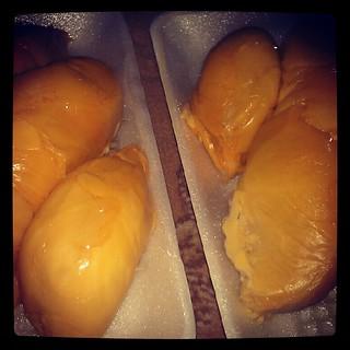 Durian yang enak!