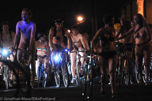 2012 World Naked Bike Ride - Portland-50