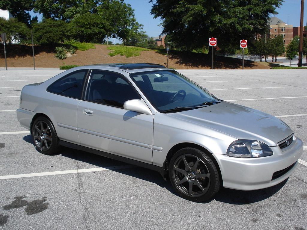 Fs 1996 Honda Civic Ex Coupe Atlanta 4800 Obo