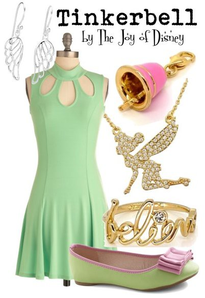 Inspired by: Tinkerbell (Peter Pan)