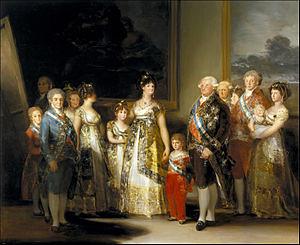 ★ゴヤ「カルロス4世の家族」wikiより by Poran111
