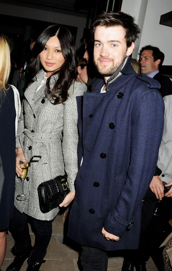 8 Gemma Chan and Jack Whitehall at the Burberry event in Knightsbridge London