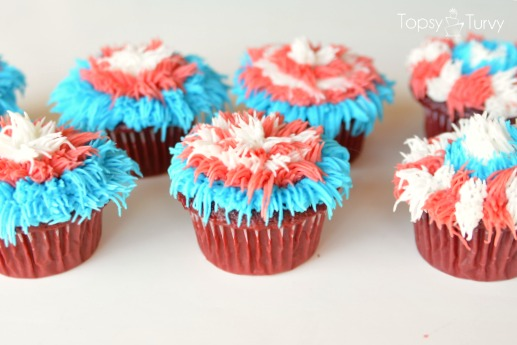 fourth-of-july-firework-cupcakes-finished