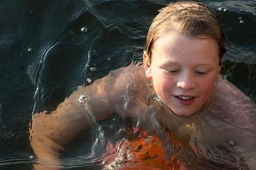 FrankSwimming