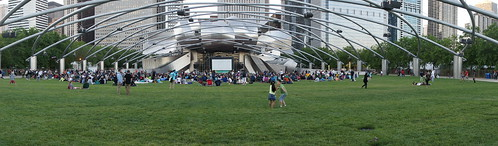 Movies in Millennium Park