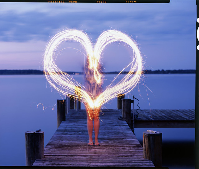 Kate Heart 4x5 Slide, St. Michaels, MD