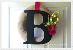 decor, textile, wreath,