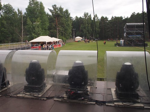 View from the main stage at Positivus, 2011
