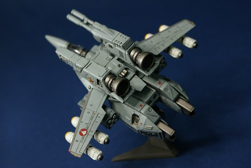 "Macross 1/144 - VF-1S Strike Valkyrie - ""Goldstars"" - 2"