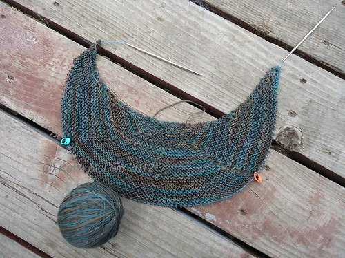 Line Break Shawl