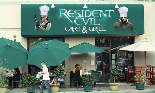 Restaurante de Resident Evil abrirá as Portas em Julho