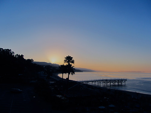 thursday morning sunrise in malibu