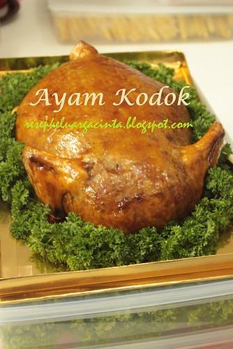 Ayam Kodok dan Galantine Annisa