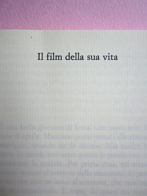 Angelo Morino, Il film della sua vita, Sellerio 2012. [resp. grafica non indicata]. Pag. 9 (part.), 1