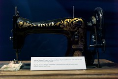 sewing machine(1.0), art(1.0), iron(1.0),