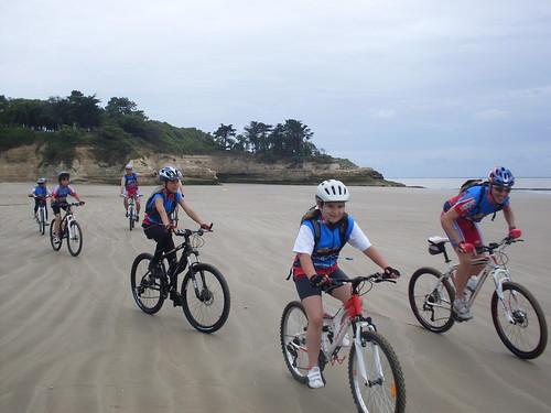 Le 09 et 10 juin 2012, le roccyclo a organisé une sortie Vtt pour nos jeunes à MESCHERS