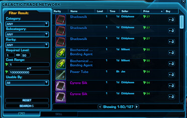 SWTOR - How To Make Money 'Credits' By Selling Items