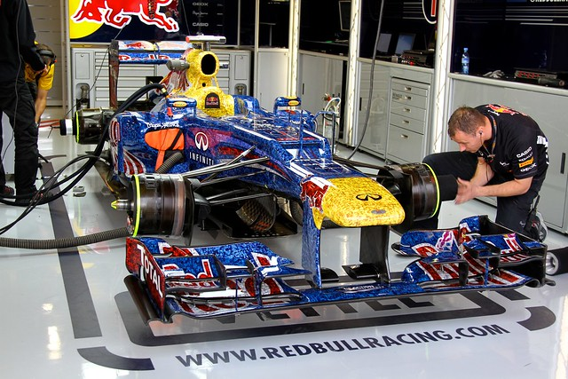 British GP 2012 - Friday: Red Bull