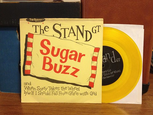 "The Stand GT - Sugarbuzz 7"" - Gold Vinyl by Tim PopKid"