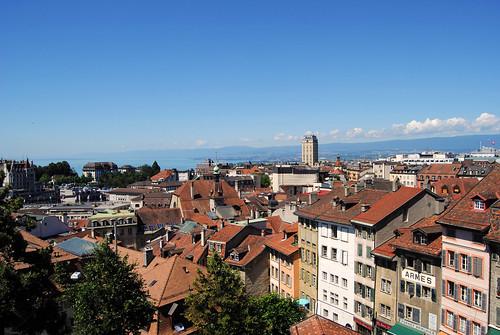 Vistas de Lausanne