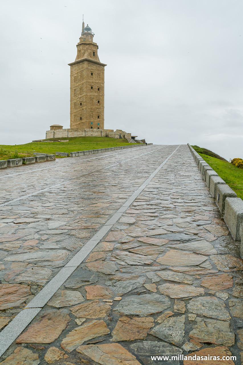 Torre de Hercules, en Coruña