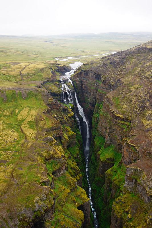 Waterfall Glymur