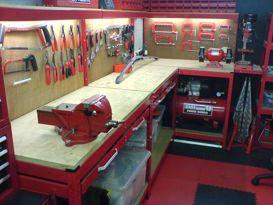 workbench lighting under cabinet the garage journal board