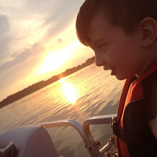 G at lake