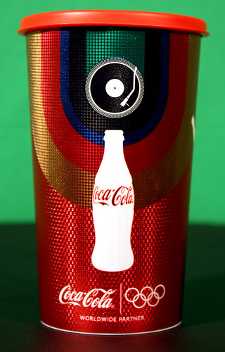 2012 Coca-Cola Pomel Horse Disc Player cup London Olympics Brazil by roitberg