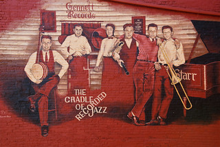 Mural: The Cradle of Recorded Jazz