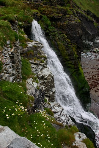 Waterfall at Tintagel