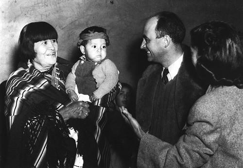 Fermi Enrico and Maria Martinez