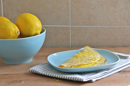 Crepes soufflé al limone