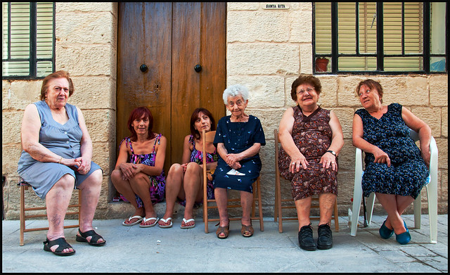 Maltese ladies