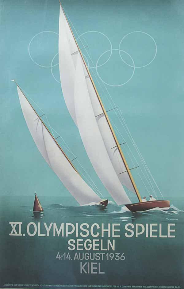 XI.Olympic Games sailing, Kiel (1936)