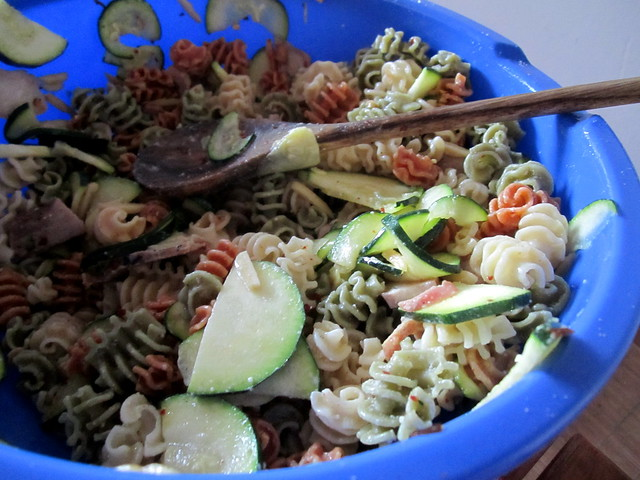 zucchini pasta salad | Flickr - Photo Sharing!
