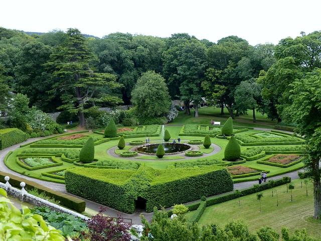 Formal Garden, Dunrobin Castle