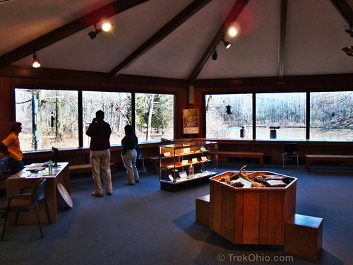 Interior of Nature Center