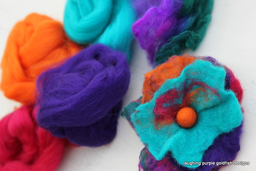 Felted Flower