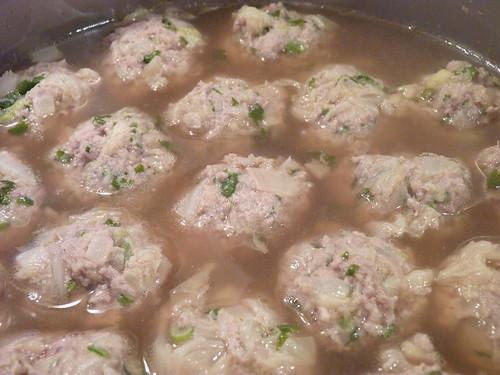 soupe nouille boulette porc 01