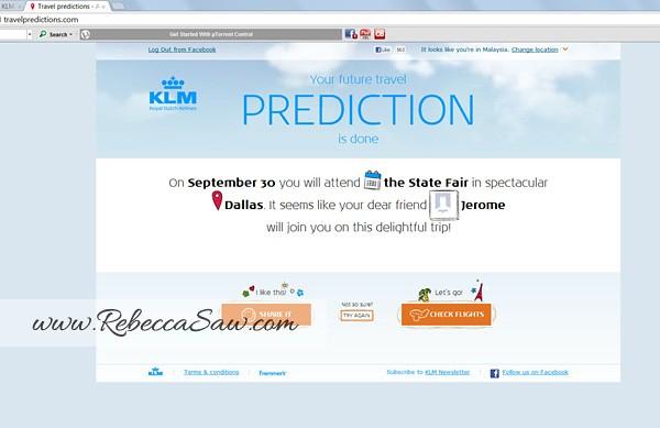 KLM travelpredictions com page 2