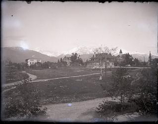 Pomona College campus view (1900)